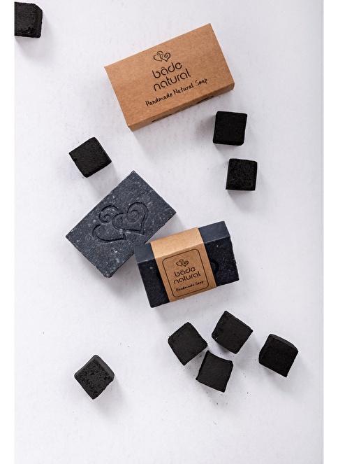 Bade Natural Aktif Kömürlü Doğal Yüz ve Vücut Sabunu Black Miracle Renksiz